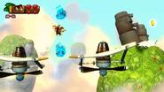DKCTF Screenshot 7-3 Weiter bis wolkig (Nähe 4. Puzzelteil)