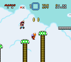 SMW Screenshot Butter Brücke 1