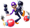Waluigi Artwork MP9