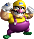 Wario Illustration SM64DS