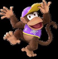 Art Diddy Kong violet Ultimate