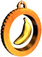 DK64 Artwork Bananenmedaille