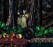 DKC2 Screenshot Dschungelzauber