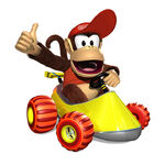 DKRDS Artwork Diddy Kong