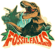 Fossil Falls Sticker