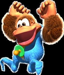 Kiddy Artwork 1 - Donkey Kong Country 3