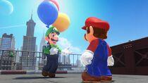 Luigi super mario odyssey
