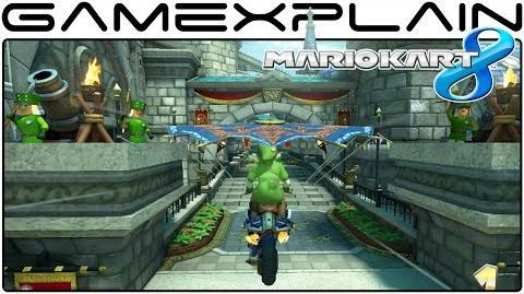 Mario Kart 8 DLC Hyrule Circuit & Link Gameplay