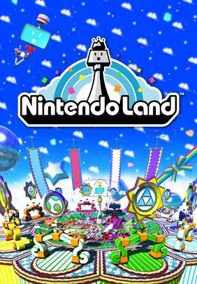 Nintendo Land E3 promo poster