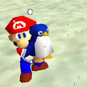 Tuxie and Mario - Super Mario 64