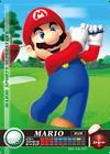 Carte amiibo Mario golf
