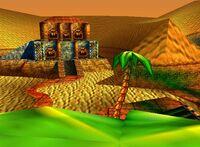 DK64 Screenshot Azteken Arena