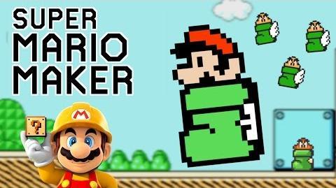 KEEP IT MOVING MARIO!!! Super Mario Maker Gameplay 2