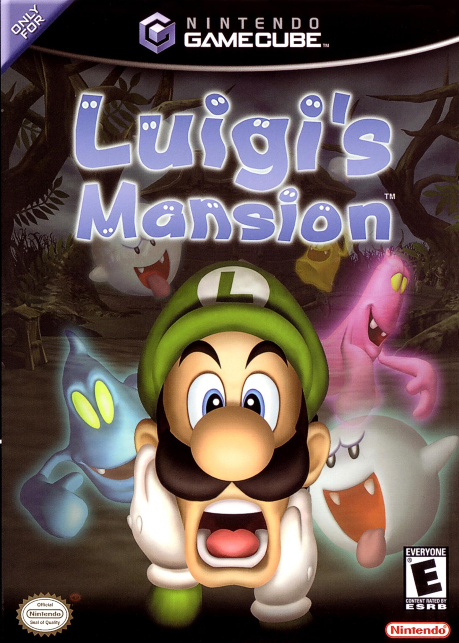 luigis mansion gamecube fr