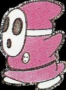 SMB2 art pink Shyguy