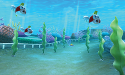 Cheep Cheep Lagoon - Overview - Mario Kart 7