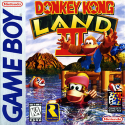 Donkey Kong Land III - North American Cover