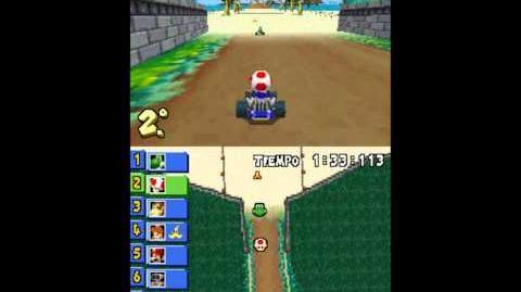 Mario Kart DS - Mushroom Cup Playa Cheep Cheep (Cheep Cheep Beach)