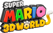 Super Mario 3D World Logo