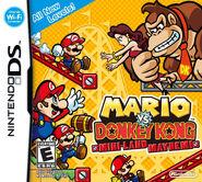 Verpackung Mario vs. Donkey Kong- Aufruhr im Miniland (US)