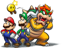Art Mario Luigi Bowser VcB DX
