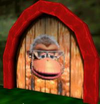 DK64 Screenshot Wrinkly-Tür