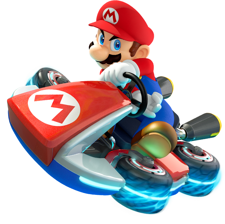 image mario artwork for mk8 png mariowiki fandom powered by wikia