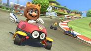 Tanooki Mario MK8
