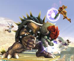 Giga Bowser Final Smash