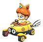 MK8 Sprite Baby Daisy