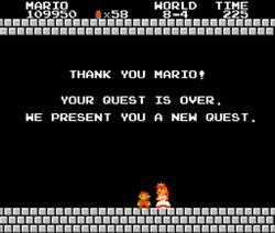 SMB Mario Toadstool