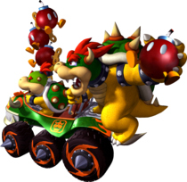 Artwork Bowser et Jr Double Dash
