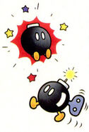 Bob-omb SMW artwork