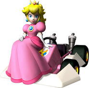 MKDS Artwork Peach