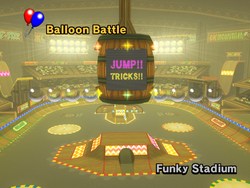 MKW Screenshot Funky-Stadion