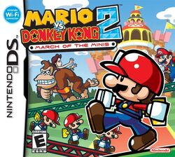 Mario vs Donkey Kong 2 March of the Minis cover art