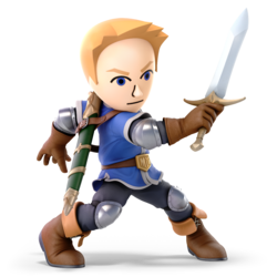 Mii Swordfighter SSBU