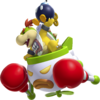 NSMBU Artwork Bowser Jr
