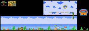 SMB3 World 1-3 SNES level map