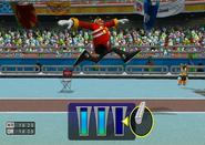 Athletics triplejump