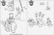 Conception Super Mario Bros. - Les aventures de Sherlock Mario 1