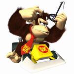 MKDS Artwork Donkey Kong