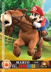 Carte amiibo Mario course équestre