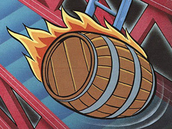 Donkey Kong-Barrel Artwork
