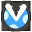 Icône Plante Piranha bleu Ultimate