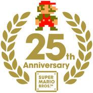 Logo 25th Geburtstag