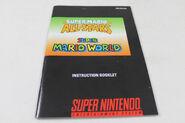 SNES SUPER MARIO ALL-STARS AND WORLD M