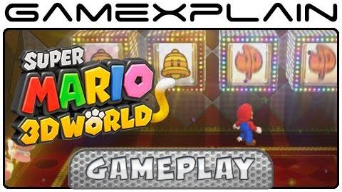 Super Mario 3D World - Slot Machine Minigame Gameplay (Wii U - 1080p)