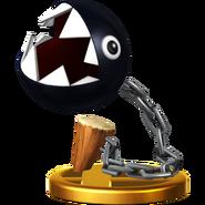 Trofeo Chomp Cadenas SSB4 (Wii U)