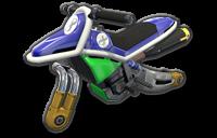 Moto Standard bleue 8